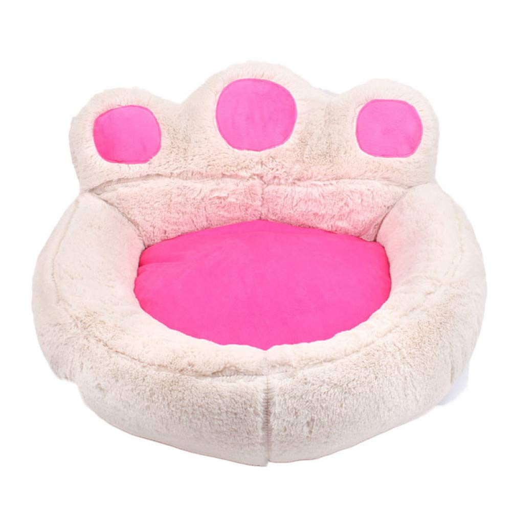 CZHCFF Puppy cat bed soft plush dog bed nest basket shape winter warm kennel pet bed sofa puppies mat