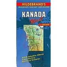 Hildebrand's Travel Map: Canada