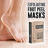 #10: Foot Peel Exfoliating Mask (2 Pairs) for Soft Baby Feet - Exfoliant Gel Peels Away Rough Dry Skin and Callus