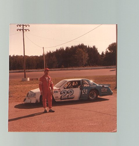 Ken Lund #22-Ford Thunderbird-Late Model Stock Car-Color-Race - Ford Model Late