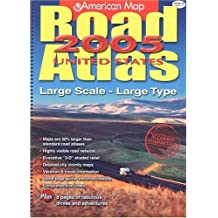 american map road atlas 2005 united states large scale large type