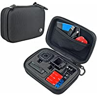 CamKix Camera and Accessory Case for GoPro HERO 5 / 4 Session Camera - Ideal for Travel or Storage - Complete Protection - Perfect Fit - Carabiner and Microfiber Cleaning Cloth (ONLY FOR HERO SESSION)
