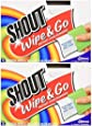 Shout Wipes - Portable Stain Treater Towelettes - Pack of (24) Wipes