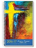 2016-17 CROSS ART Inspirational Christian Daily Planner August To July Academic Year Day Planners Weekly Monthly Agenda