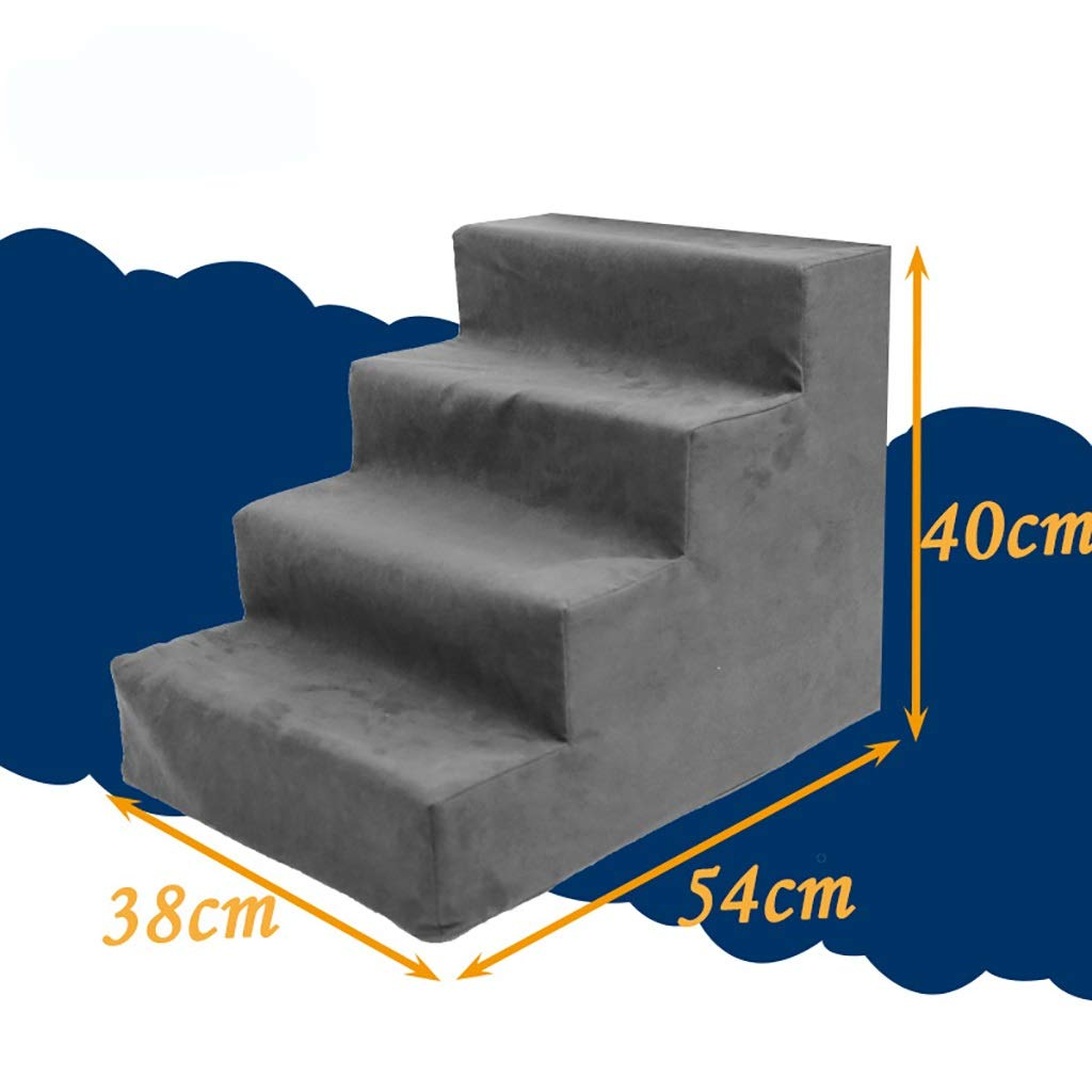 3 Pet stairs Pet Stairs, 4Step for Cats Dogs, Removable Washable, Best for Small to Medium Pets (color   2)
