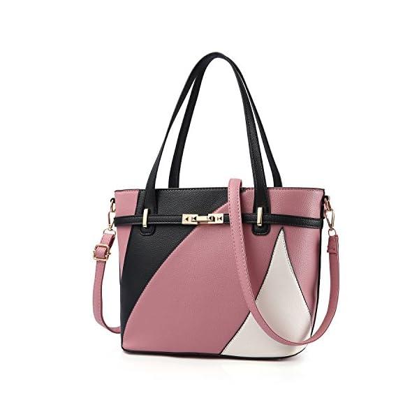 715d29fa72c4 Top Handle Bags for Women Leather Tote Purses Handbags Satchel ...