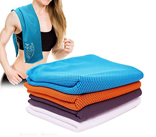 New [4 Pack] Cooling Towel (36