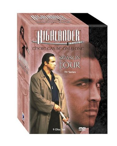 Highlander The Series - Season - Dvd Box Set Highlander