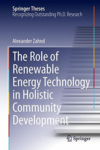 The Role of Renewable Energy Technology in Holistic Communit