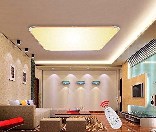 SAILUN 36W Dimmbar Ultraslim LED Deckenleuchte Modern Deckenlampe ...