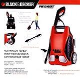 Black & Decker PW1500SPX Pressure Washer (Black and Orange)
