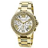 Michael Kors MK5756 Women's Camille Gold-Tone Glitz Stainless Steel Bracelet Watch