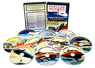 Huge Collection of Two Of The Most Popular And Best Known Mechanics And Science Magazines, In This 10 Part Public Domain Computer DVD ROM Series (Including 14 hours of video and 100 hours of audio)