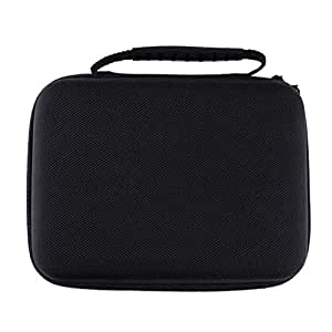 HOMYL EVA Protective Cover Case Shock-resistant Console & Accessory Protector Storage Bag for Super NES Classic Mini Travel Carrying Box (Black)