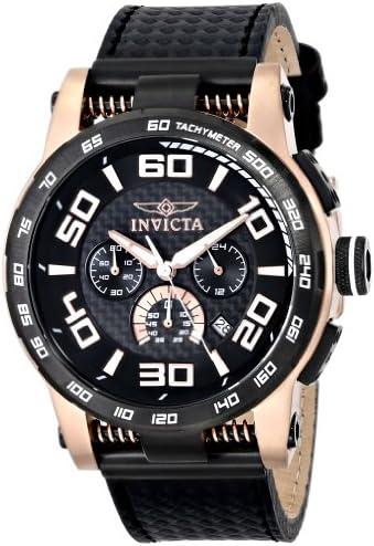 Invicta Men s 15904 S1 Rally Analog Display Japanese Quartz Black Watch