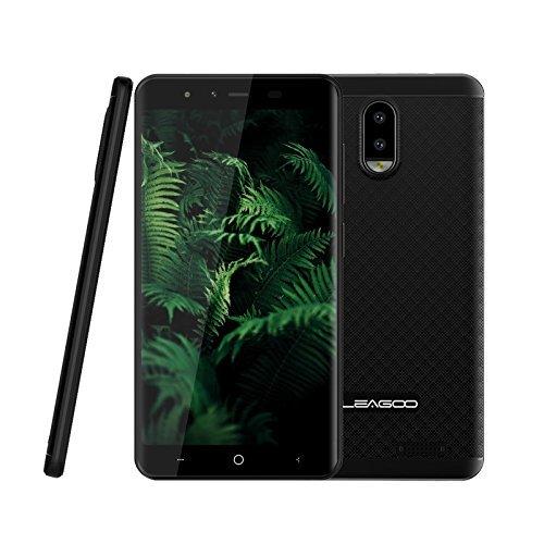 Leagoo Z7 4G Smartphone 5,0 Zoll FWVGA Display Dreifachkameras (R: 5MP AF + 2MP, AF: 2MP FF) 1G + 8G (32GB erweiterbar) Quad-Core 1.3GHz Android 7.0 3000mAh