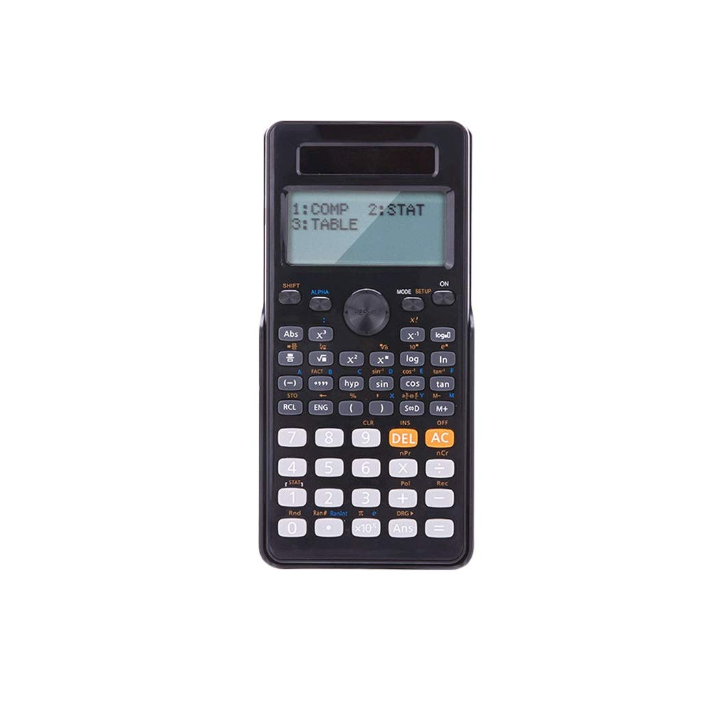 RJ HOME Calculator Use The Calculator Exam Students University Accounting and Finance Portable Calculator (Color : Black)