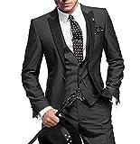 GEORGE BRIDE Slim Fit Mens Suit 3Pc Suit Jacket, Vest,Suit Pants
