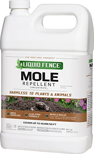 Liquid Fence Mole Repellent Concentrate, 1-Gallon
