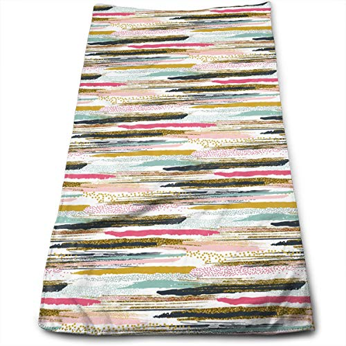 ripes Hand Painted Super Soft Absorbent Sports/Beach/Shower/Pool Towel ()