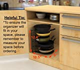Heavy Duty Pots and Pans Organizer - For Cast