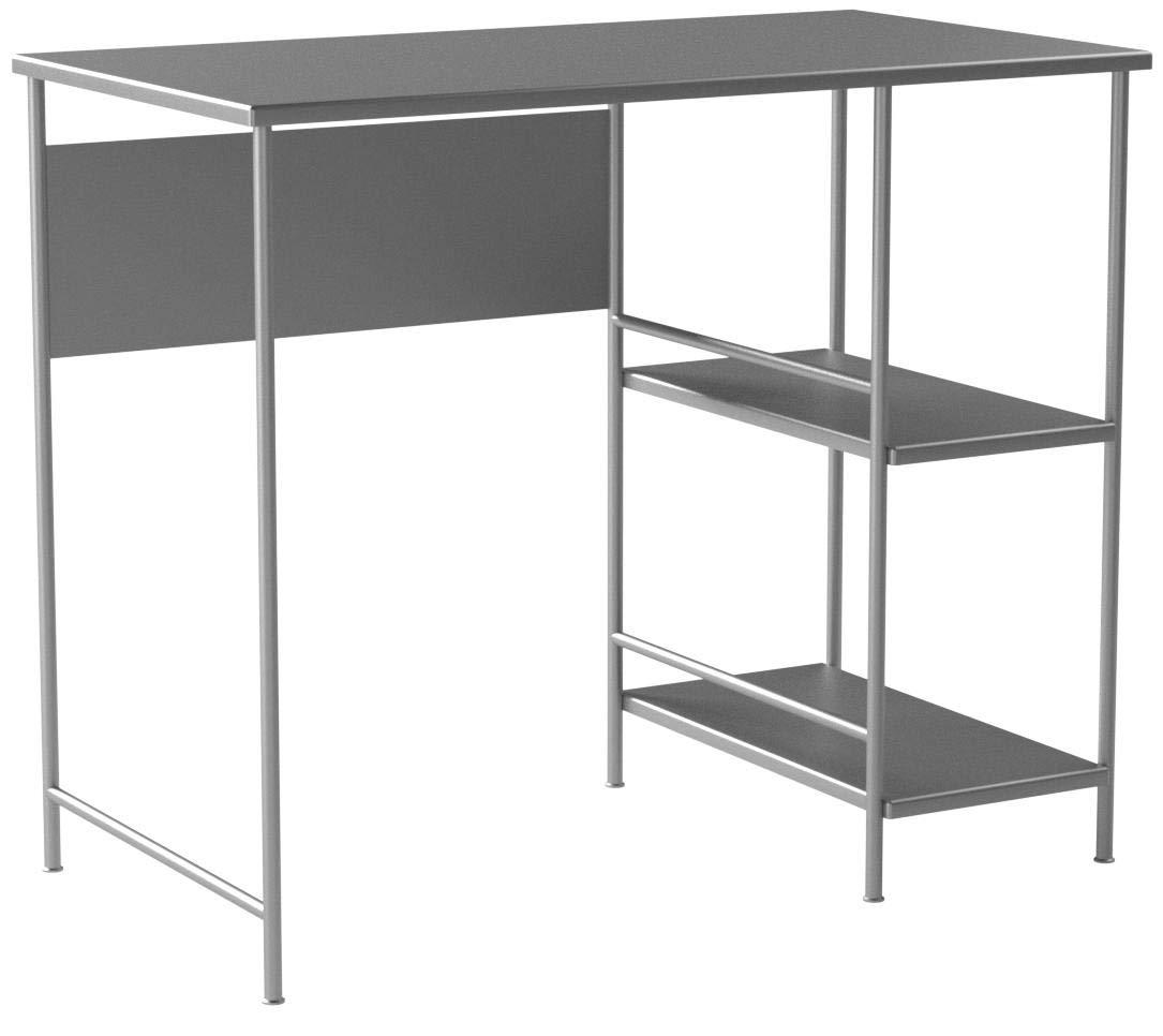 Mainstays Basic Student Desk.Model: 9120596W /Color: Light School Gray
