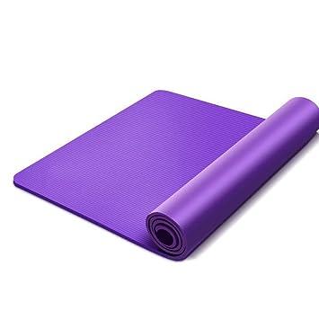 HYTGFR 185 * 80Cm Esteras de Yoga Antideslizantes 15 mm para ...