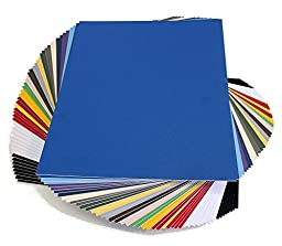 topseller100, Pack of 50 sheets 8x10 UNCUT matboard / mat boards (Mix)