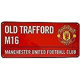 Manchester United Colour Street Sign - Multi-Colour