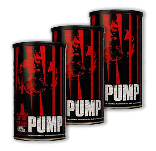Universal Nutrition System Animal Pump 30 Packets [3 Pack]