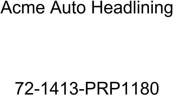 Acme Auto Headlining 72-1413-PRP1180 Sandalwood Replacement Headliner 5 Bow 1972 Chevrolet Camaro 2 Door Hardtop