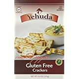Yehuda Gluten Free Matzo Crackers, Cracked Pepper, 4.4 Ounce by Yehuda