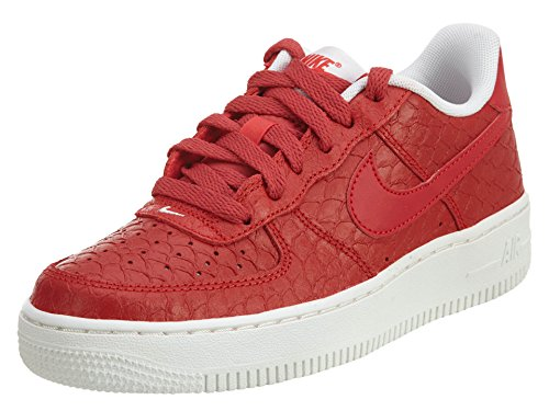 NIKE Air Force 1 Lv8 (GS), Scarpe da Basket Uomo Rojo (Rojo (Action Red/Action Red-summit White))