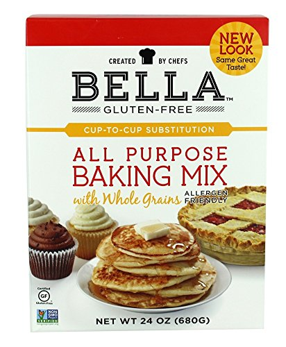 Bella GlutenFree All Purpose Baking Mix Premium Casein Free Healthy Flour 24 oz 1 Pack