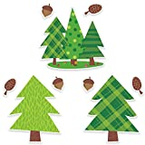 Creative Teaching Press Woodland Friends Pine Trees 10'' Jumbo Designer Cut-Outs (6249)