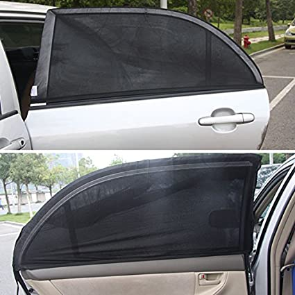 Parasol para ventana lateral trasera de coche y monovolúmen (2 ...