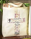 AT001 Recycled Nylon, Names of Jesus Tote Bag (Spanish), 14 x 13'' H, 12pk
