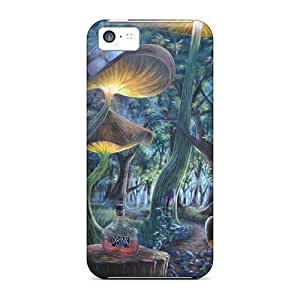 High-end Cases Covers Protector For Iphone 5c(drink Me Alice And Wonderland)