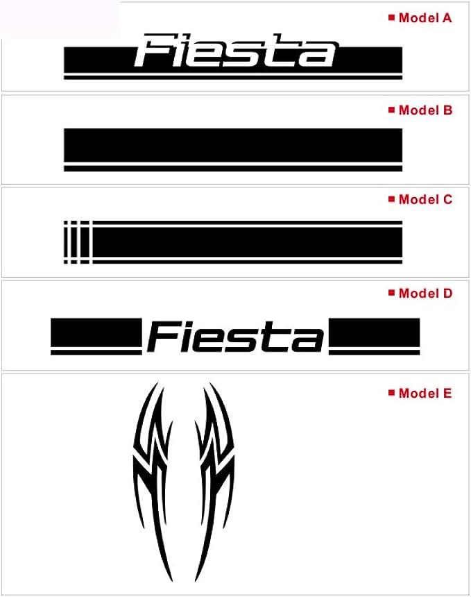 HLLebw Auto Seitenstreifen Seitenaufkleber Aufkleber f/ür Ford Focus ST