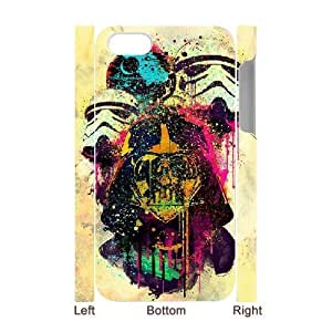 3D Sexyass Star Wars IPhone 4/4s Cases Star Wars Watercolor, Star Wars, {White}