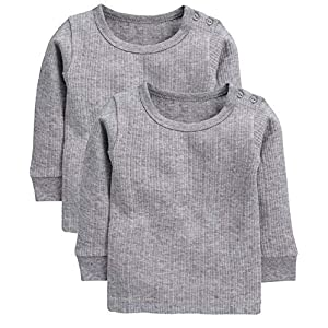 Neva Kids Winter Wear Thermal Upper Full Sleeves Body Warmer top Pack of 2