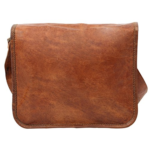 Indicraft Inc, Borsa a tracolla donna beige Brown