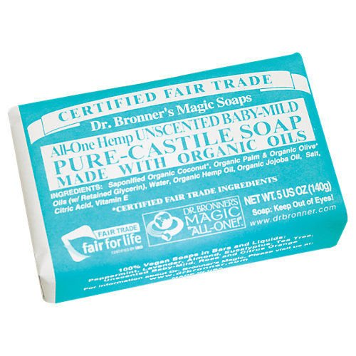 4x Dr. Bronner Organic Baby Mild Soap - 5 Oz Bar Soap Free Shipping