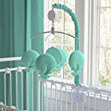 Carousel Designs Solid Teal Mobile