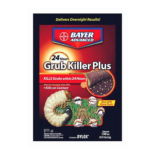 Bayer Advanced 700740S 24 Hour Grub Killer Plus, Granules, -