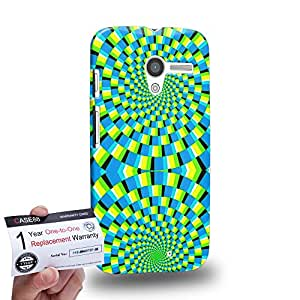 Case88 [Motorola Moto X (1st Gen)] 3D impresa Carcasa/Funda dura para & Tarjeta de garantía - Art Fashion Visual Art Effect 27