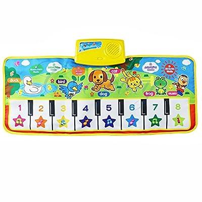 Hot Sales FimKaul Keyboard Musical Singing Gym Educational Piano Plat Kid Toy