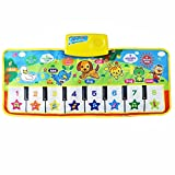 learn spanish customer service - Wenini Music Carpet Mat Toy, New Touch Play Keyboard Musical Music Singing Gym Carpet Mat Best Kids Baby Gift (Multicolor❤️)