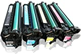 Golden Toner Remanufactured Toner Cartridge Replacement for HP HP COLOR LASERJET CP4025 BLACK TONER CARTRIDGE ( Black,Cyan,Magenta,Yellow , 4-Pack )