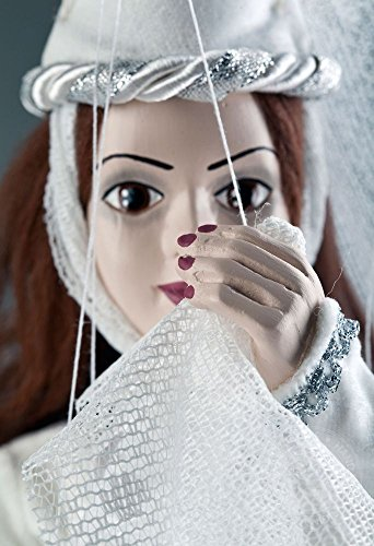 White Lady - Handmade Puppet by Czech -